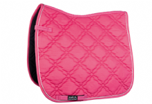 HKM BOLOGNA GREAT VALUE SADDLE CLOTH - PINK  - RRP £18.95